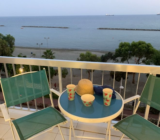 Limassol Property Beachfront 2 Bedroom Apartment For Rent in Neapolis in Limassol, Cyprus, AE12780 image 1