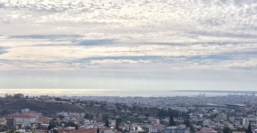 Limassol daytime view-east and center view