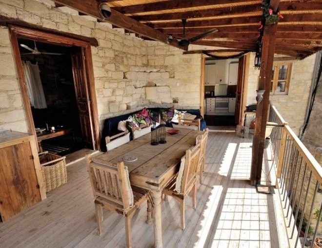 Limassol Property Three Bedroom Traditional Village Stone House for sale in Malia MK12718 image 1