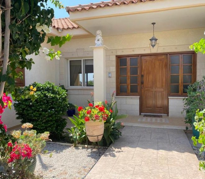 Limassol Property Attractive Three Bedroom Bungalow in Moni, Cyprus, MK12701 image 1