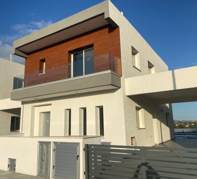 Limassol Property Modern Three Bedroom Detached House in Pareklisia, Cyprus, AE12840 image 1