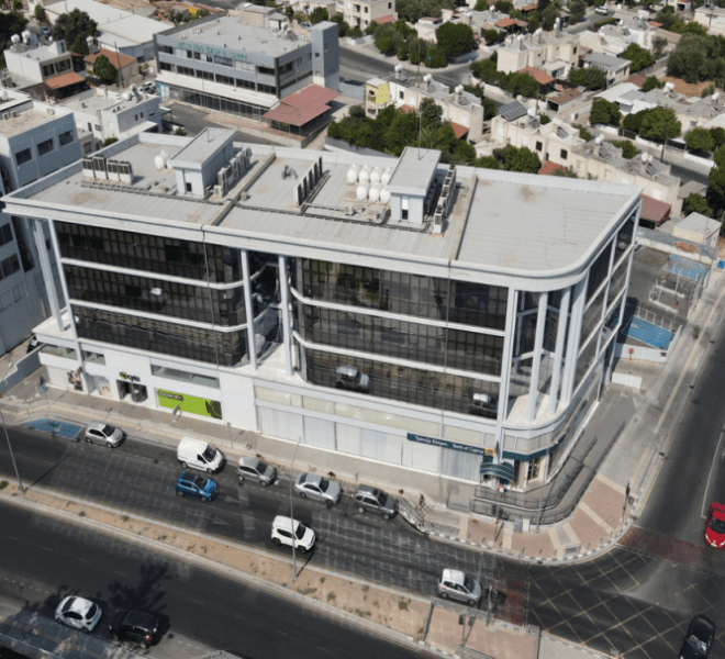 Limassol Property Modern Three Floor Office Building in Agias Filaxeos, Limassol, Cyprus, AE12816 image 1