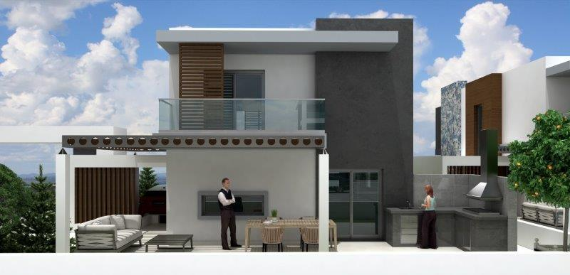 OLIVE RESIDENCE HOUSE 4 BACK VIEW
