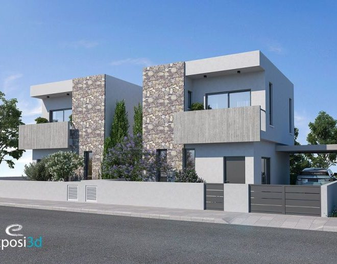 Limassol Property Attractive 3 Bedroom Semi Detached House in Limassol, Cyprus, AE12708 image 2