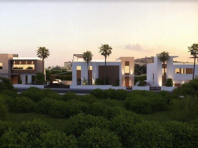 Limassol Property Four Bedrooms Luxury Villas in Agios Tychonas in Agios Tychon, Cyprus, AM12875 image 3