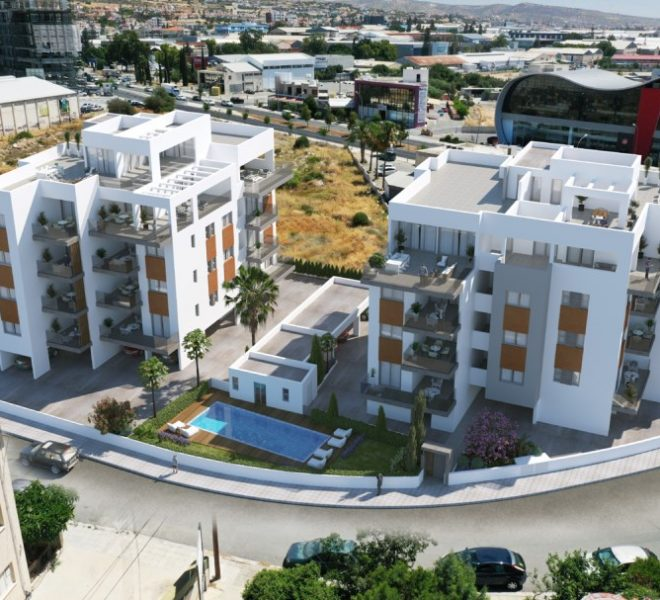 Limassol Property Stunning Apartments In Linopetra Area in Linopetra Refugee Housing Estate, Agios Athanasios, Cyprus, MK12933 image 2