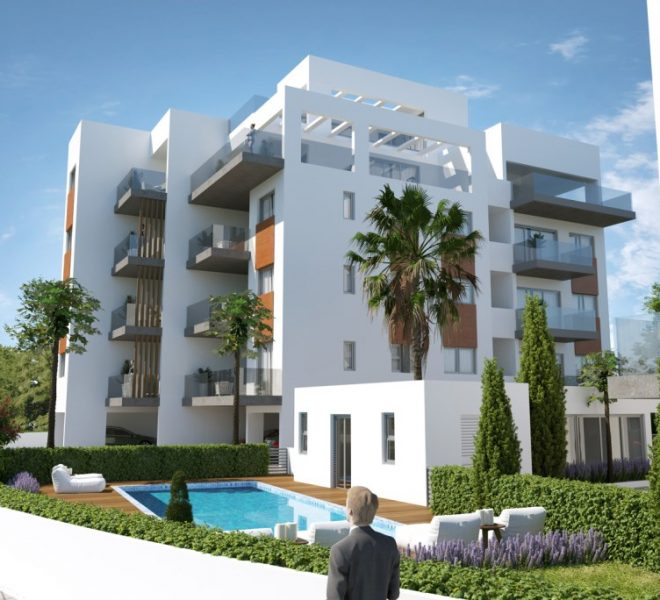 Limassol Property Stunning Apartments In Linopetra Area in Linopetra Refugee Housing Estate, Agios Athanasios, Cyprus, MK12933 image 3