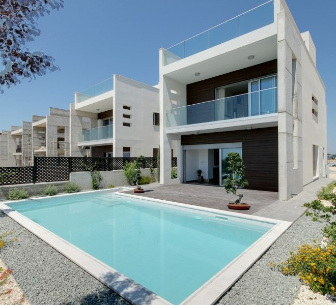 Luxury Beach Villa in the Complex in Paphos, Cyprus, CM10572 image 1