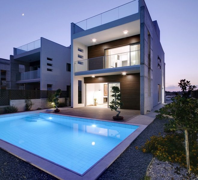 Luxury Beach Villa in the Complex in Paphos, Cyprus, CM10572 image 2