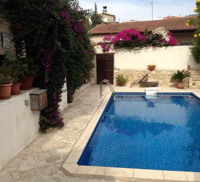 Larnaca Property Beautiful Five Bedroom Stone Built Village House in Agia Anna, Cyprus, AE12811 image 1