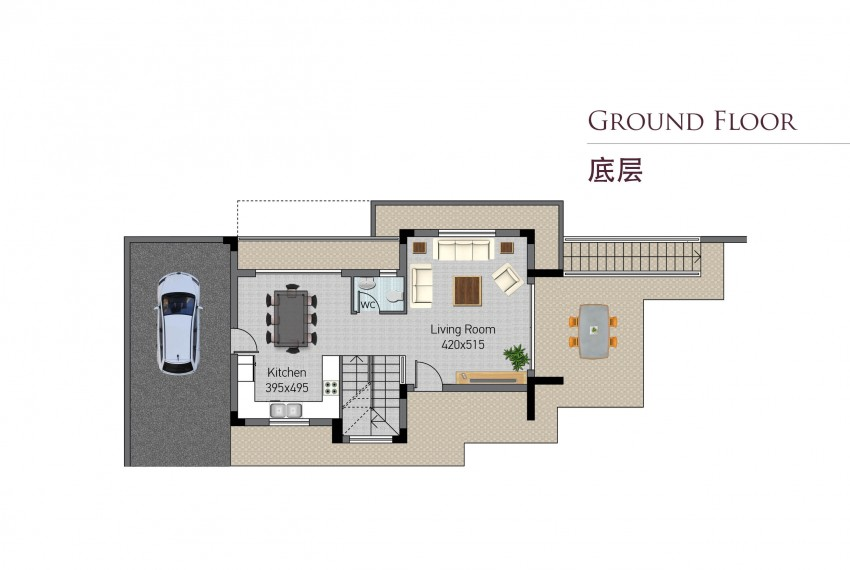 Type A- ground floor