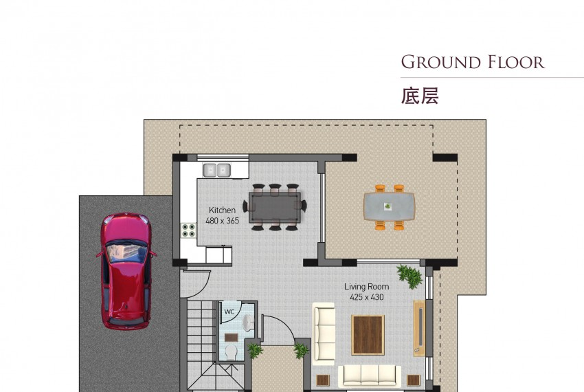 Type C-ground floor