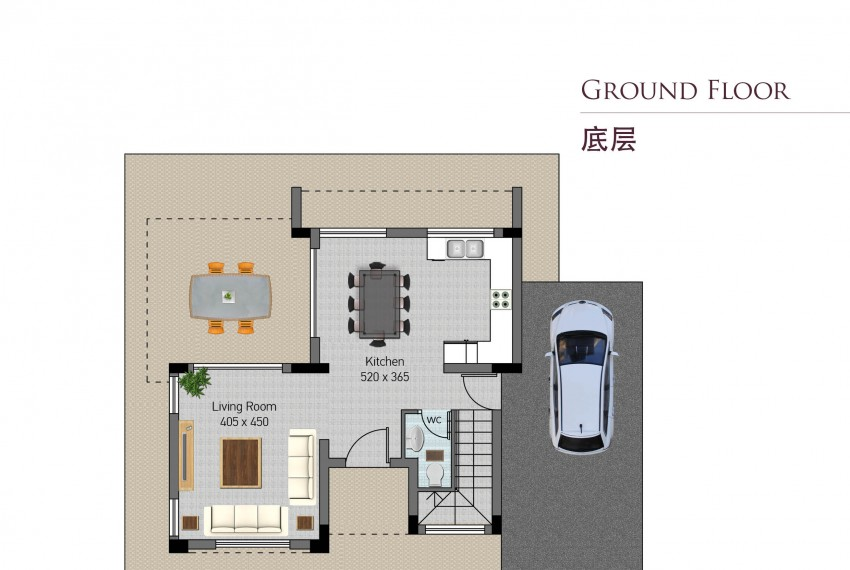 Type D-ground floor