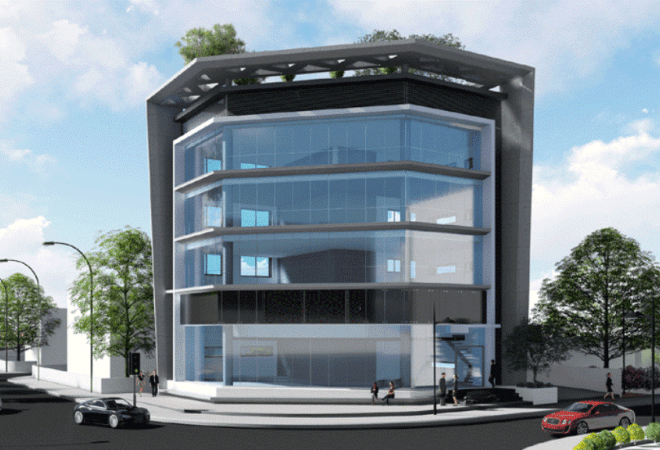Modern Commercial Building in Kato Polemidia, Cyprus, AE12648 image 1