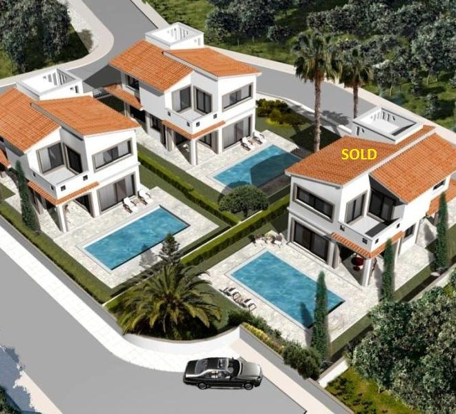 Luxury 3-Bedroom Villas in Paphos, Cyprus, AE12507 image 1