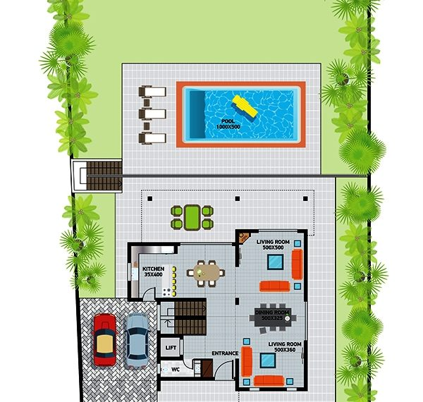 Villa3plan first floor
