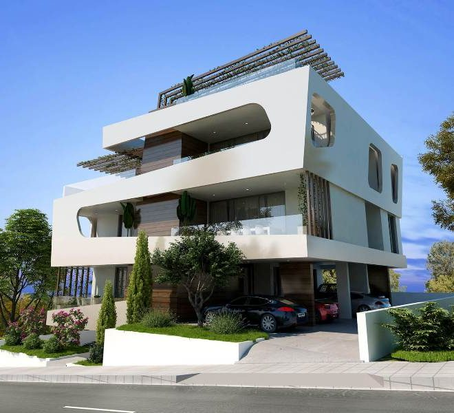 Contemporary 2-Bedroom Apartments for sale in Limassol AE12427 image 1