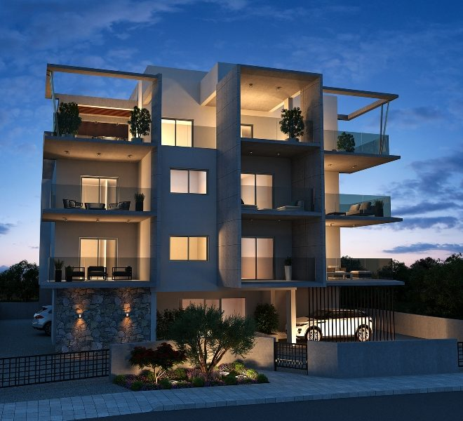 Modern 1-Bedroom Apartments for sale in Limassol AK12164 image 3