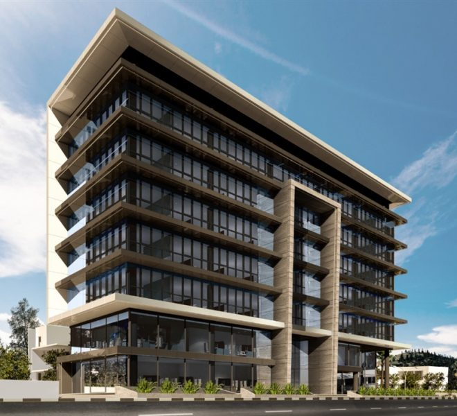 Limassol Property Modern Business Center In Germasogeia Area in Germasogeia, Cyprus, AE13116 image 3
