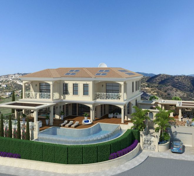 Limassol Property Exceptional Super Luxurious Villa In Agios Tychonas in Agios Tychon, Cyprus,  image 3