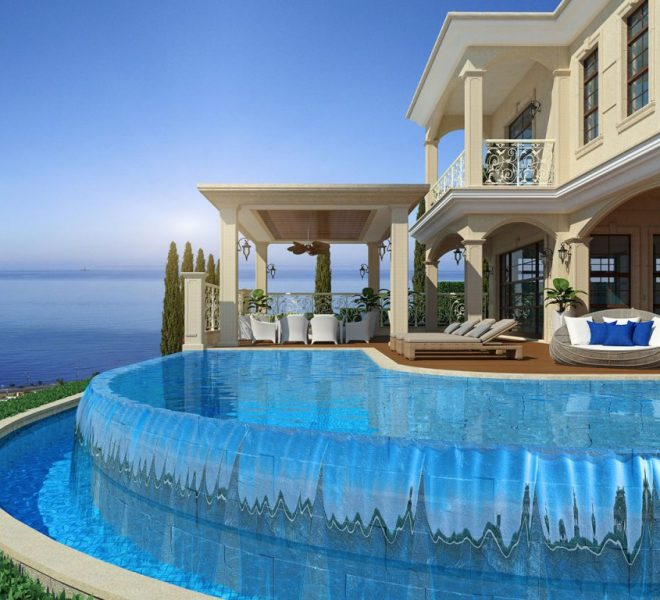Limassol Property Exceptional Super Luxurious Villa In Agios Tychonas in Agios Tychon, Cyprus,  image 1