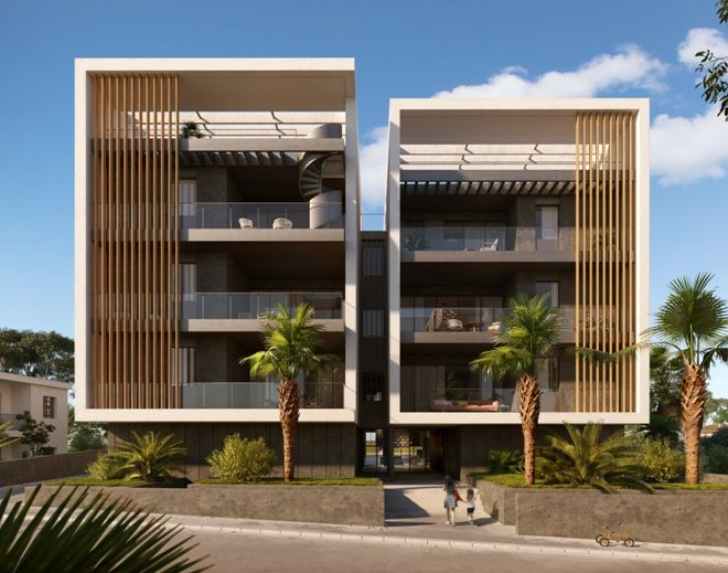 Contemporary 3-Bedroom Apartment in Paphos, Cyprus, AE12360 image 2