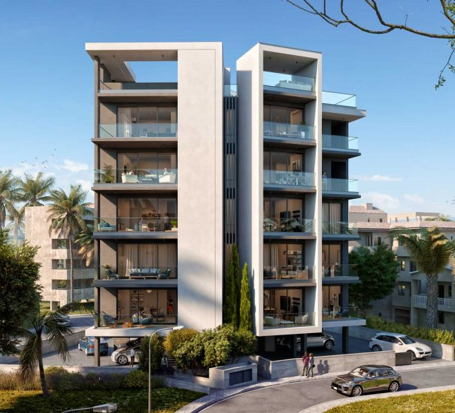 Limassol Property One Bedroom Contemporary Apartment In Town Center in Limassol, Cyprus, AE13179 image 1