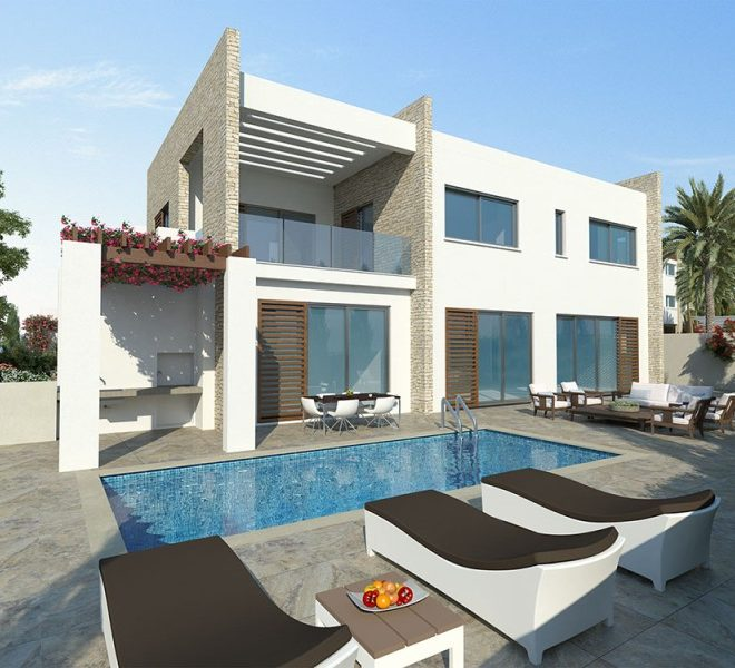 Exclusive 4-Bedroom Villa in Paphos, Cyprus, CM10294 image 1