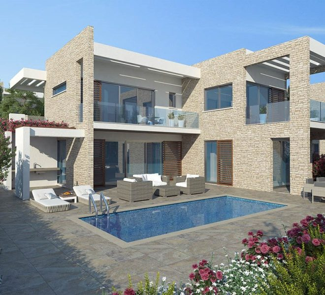 Exclusive 4-Bedroom Villa in St George Area in Paphos, Cyprus, CM10292 image 1