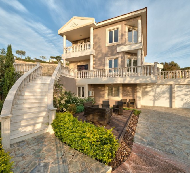 5 Bedroom Villa with Beautiful Sea Views for sale in Agios Tychonas PX9351 image 1