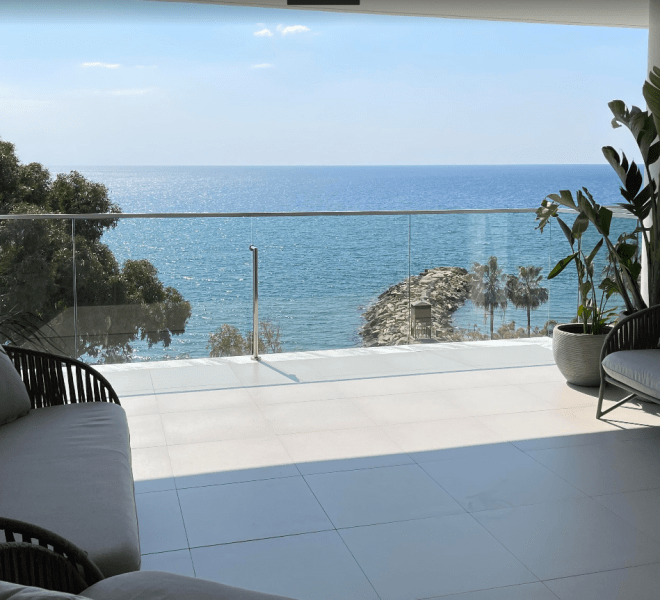 Limassol Property Luxury 3 Bedroom Beachfront Property for sale in Agios Tychon AM 12873 image 1