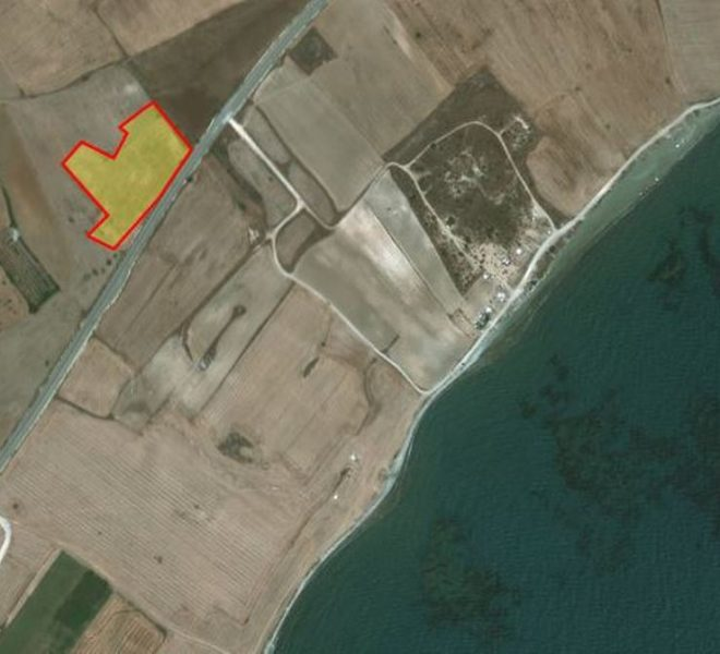Land near the Sea for sale in Larnaca image 1