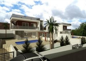 Limassol Property New Modern House With Swimming Pool in Pareklisia, Cyprus, AM12726 image 1