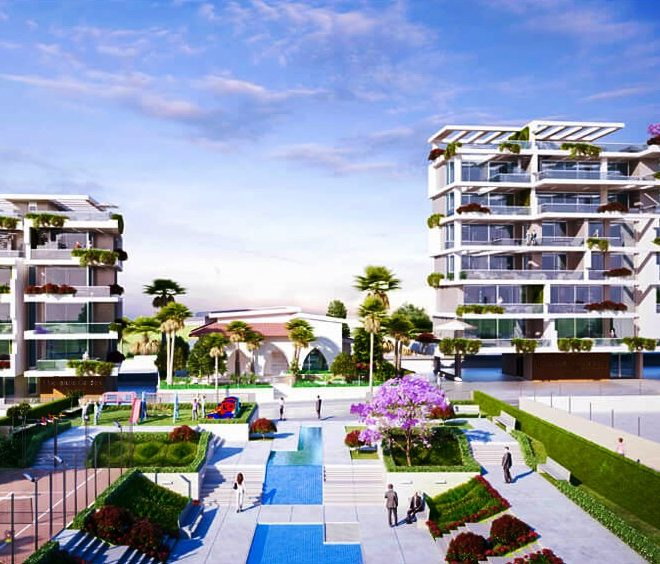 Modern 2-Bedroom Apartments in Larnaca, Cyprus, AE12546 image 1