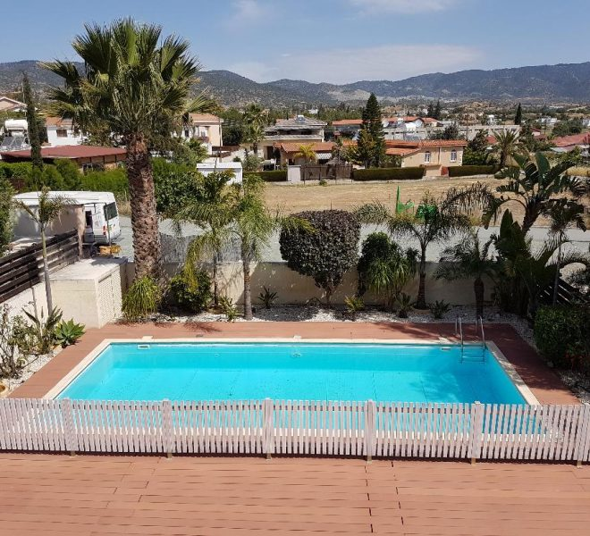 Attractive 3 Bedroom House With Pool and Garden in Pareklisia, Cyprus, AE12615 image 1