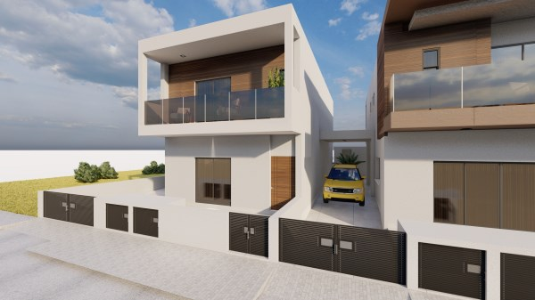 Limassol Property Attractive Contemporary Four Bedroom Semi-detached House in Anthoupoli, Kato Polemidia, Cyprus, AE12854 image 2