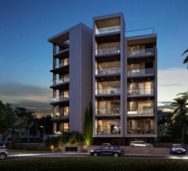 Limassol Property Three Bedroom Contemporary Apartment In Town Center in Limassol, Cyprus, AM13181 image 1