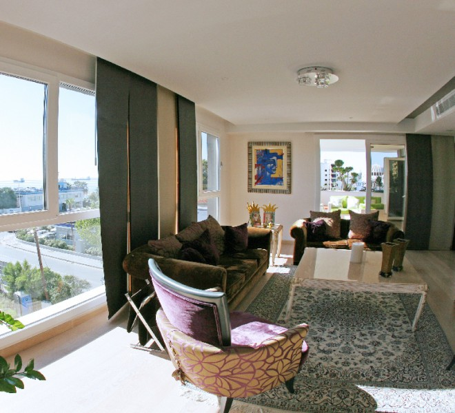 Luxury 4 Bedroom Penthouse with Fantastic Sea Views for sale in Limassol centre MK7055 image 3
