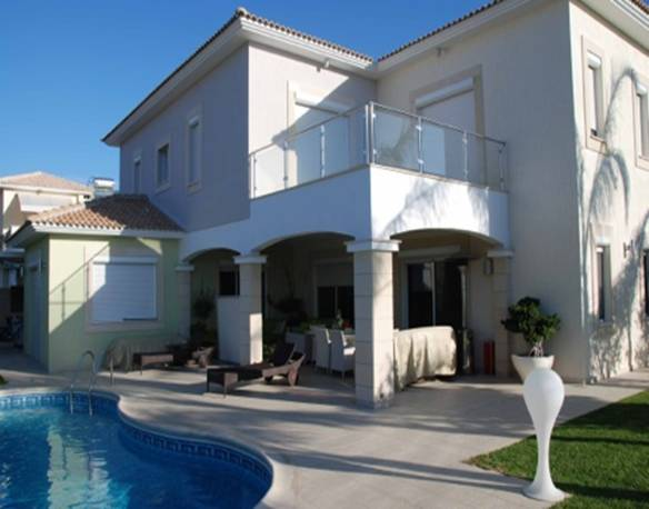 4 Bedroom Villa with Private Swimming Pool in Armenochori, Cyprus, CM7131 image 2