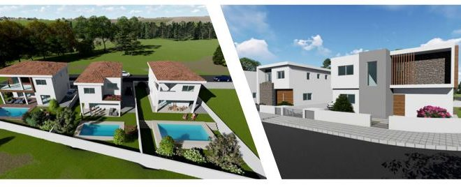 Limassol Property Luxury Modern Four Bedroom Villa for Sale for sale in Agios Athanasios AM12825 image 1