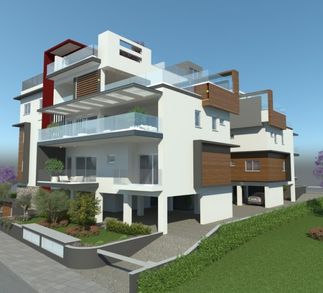 New Modern 2 Bedroom Apartment in a Luxury Building for sale in Potamos tis Germasogeias, Germasogeia MK10160 image 2